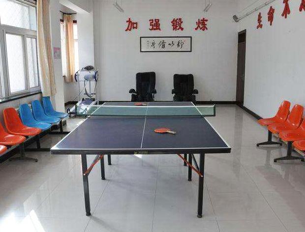 养老院乒乓球室展示