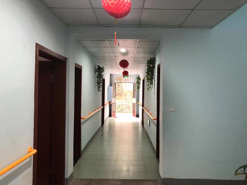 养老院院内走廊展示
